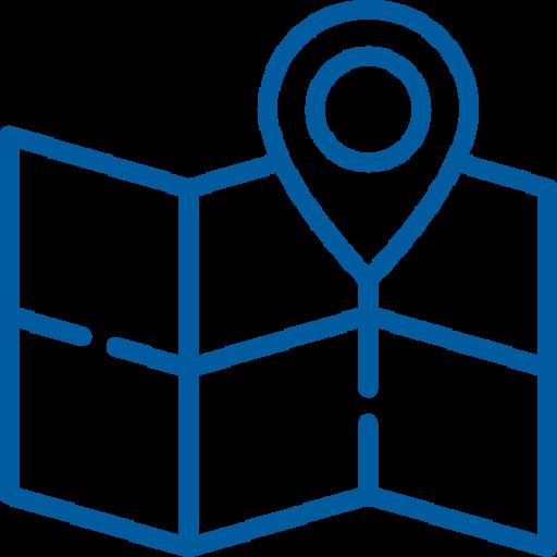 icona rappresentate punto su cartografia