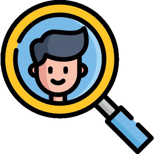 Icona rappresentate ricerca personale