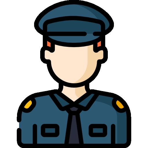 icona agente polizia locale