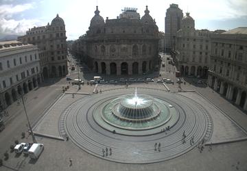 immagine di piazza de ferrari