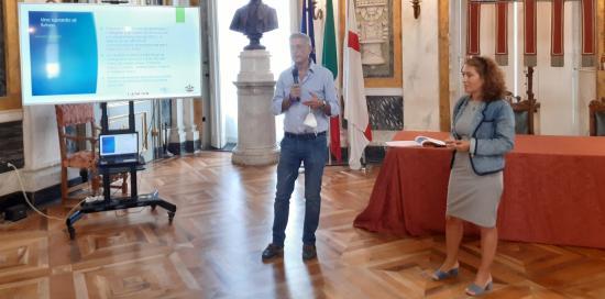 Maurizio Caviglia e Laura Gaggero