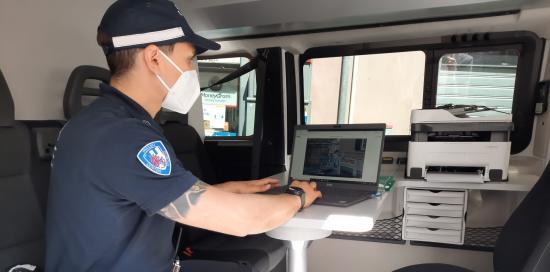 comando mobile Polizia Locale