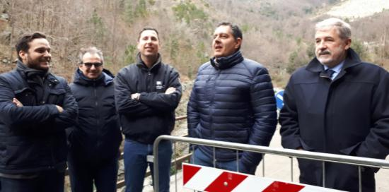 Bucci, Toti, Giampedrone a San Carlo di Cese