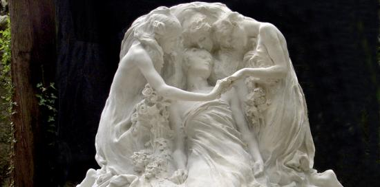 Tomba Bauer, di Leonardo Bistolfi (1904)