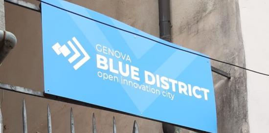 blue district