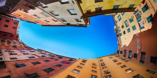 Il cielo sopra Genova