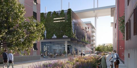 13_ La nuova palestra del quartiere (© Renovatio design)
