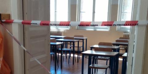 Scuola Primaria Vittorio Alfieri prima dell'intervento