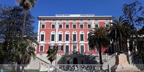 edificio della Villa