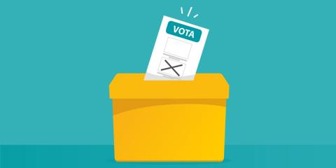 urna e scheda elettorale