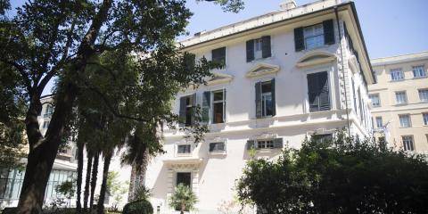 facciata biblioteca guerrazzi