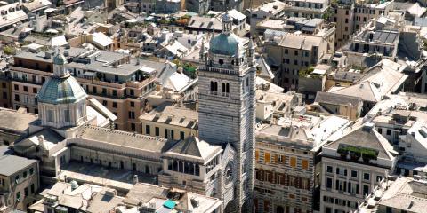 veduta di Genova dall'alto
