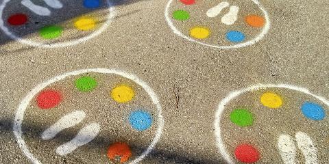 esterno con giochi