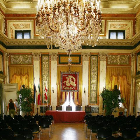 Palazzo Tursi - Salone di Rappresentanza
