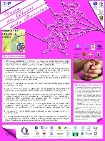 manifesto carta dei diritti della bambina