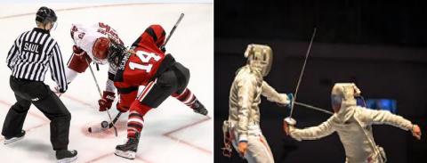 hockey e scherma